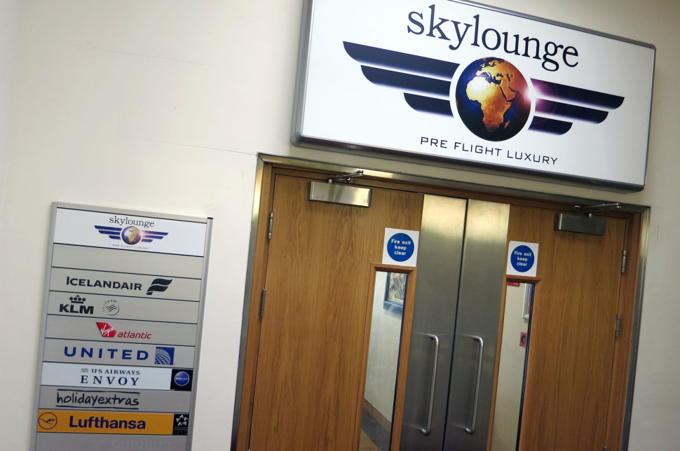 SkyLounge am Glasgow Airport