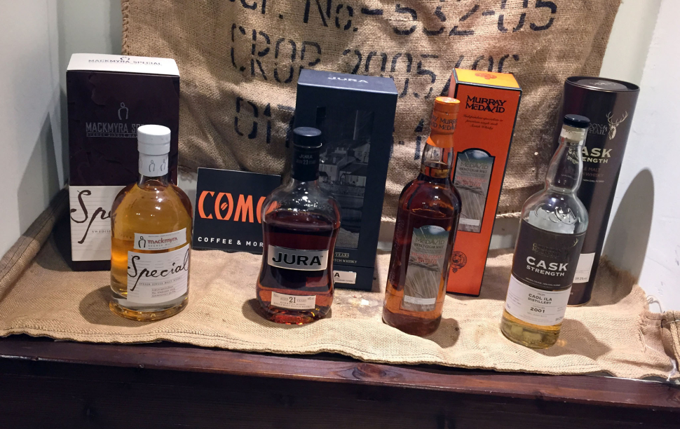 Lineup des whiskySBH 02/2015