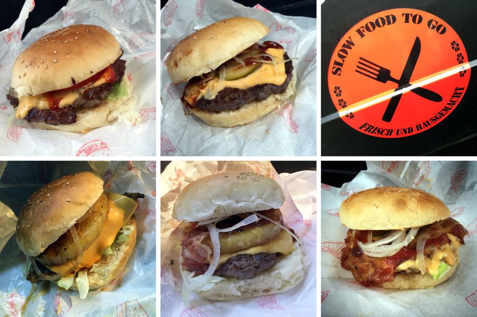 Slow Food to go: Burgerparade