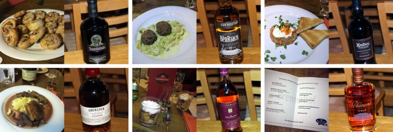 Tasteup-Whiskymenü im März 2015