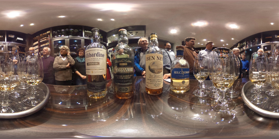 Whisky-Verkostung bei Tabak Werner 03/2015