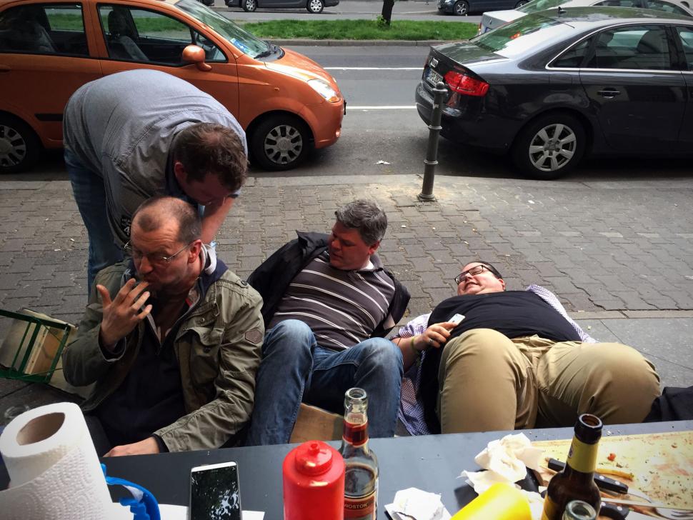 Der Bankhinterfall zu Berlin