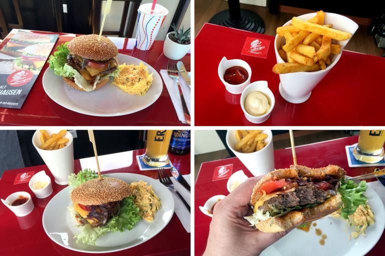 Burgermania bei Rollin' Burger in Konstanz