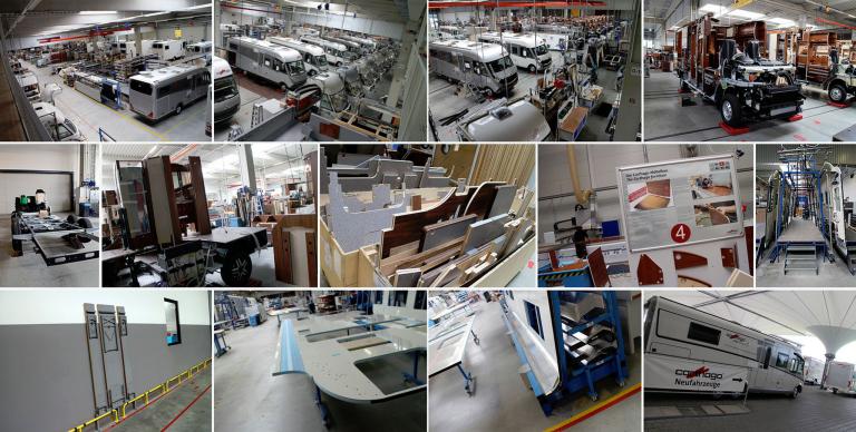 Carthago Produktionshalle