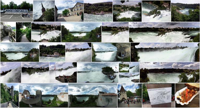 Fotoalbum: Der Rheinfall am Schloss Laufen