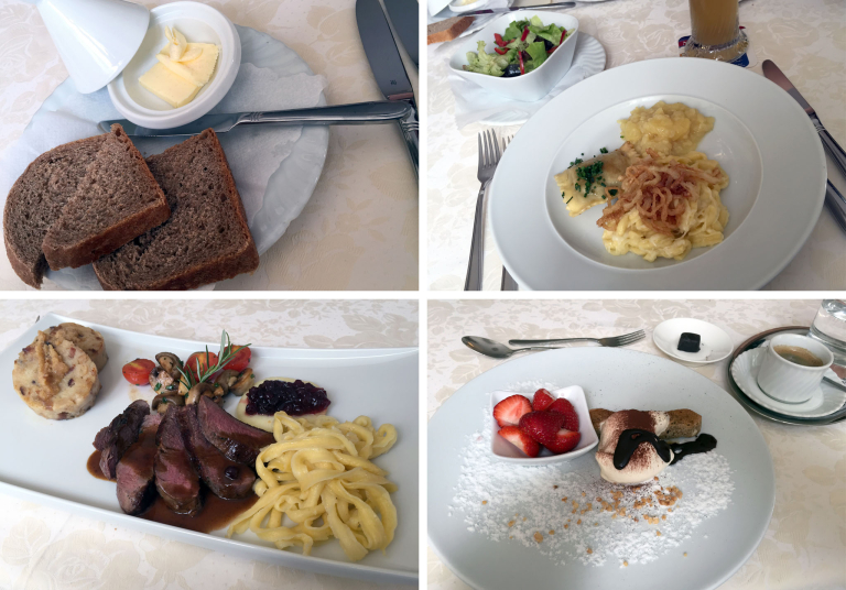 Kulinarische Empfehlung des Hauses