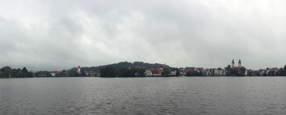 Blick über den Stadtsee