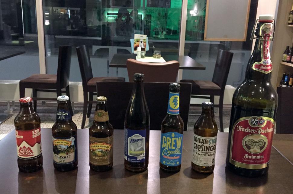 Das Bier-Lineup