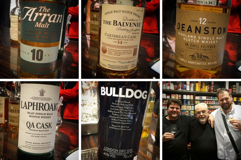 Whiskys, Gin, Thorsten, Udo und ich