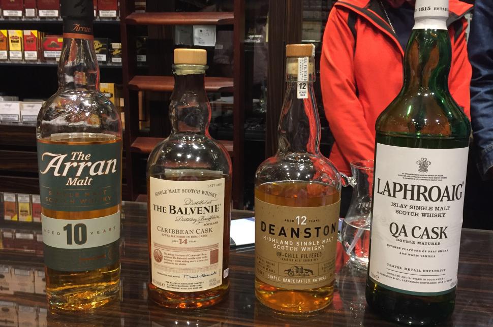 Das Whisky-Lineup