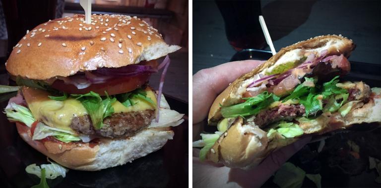 Classy Cheeseburger