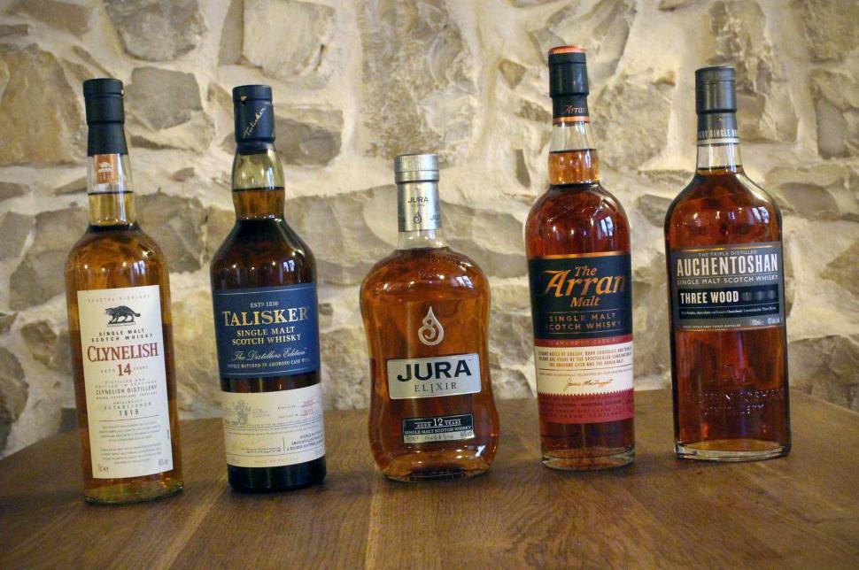 Whiskymenü Lineup