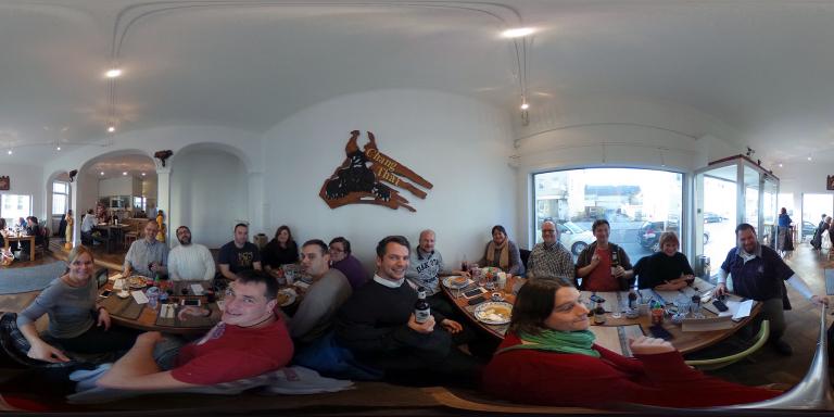 Teilnehmer des Tweetup Tuttlingen in 360°