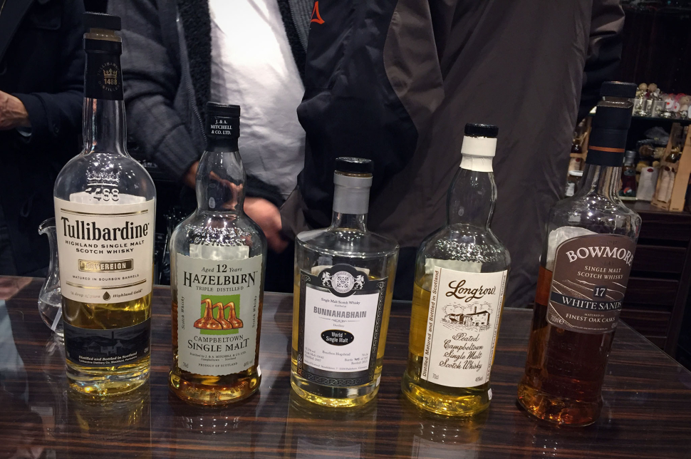 Whisky-Lineup