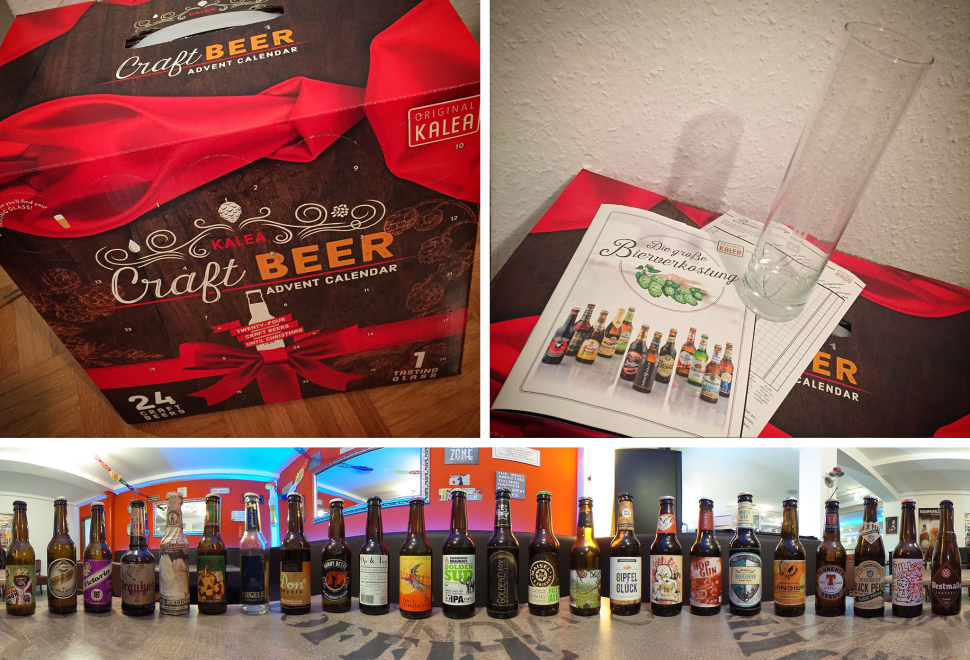Der Kalea Craft Beer Adventskalender 2015