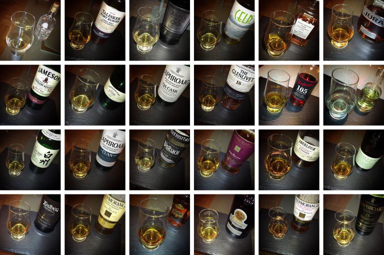 Meine Whiskyauswahl im Advent 2015
