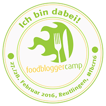 3. FoodBloggerCamp / 27.-28. Februar 2016 in Reutlingen | #fbcr16