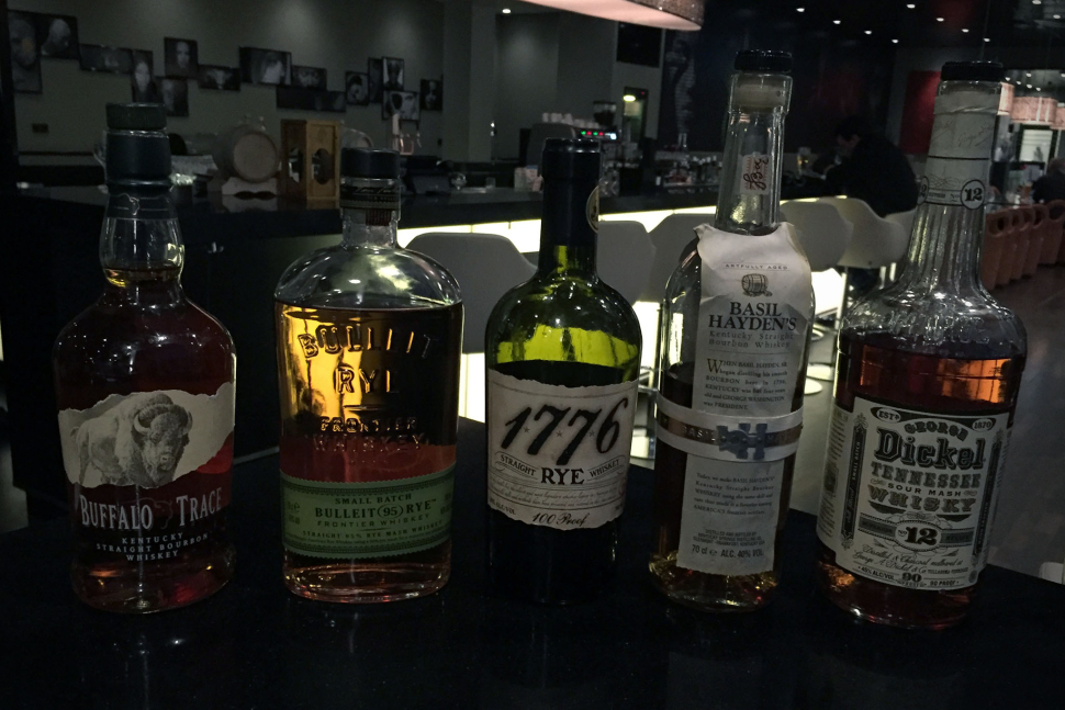 Das Whiskey-Lineup