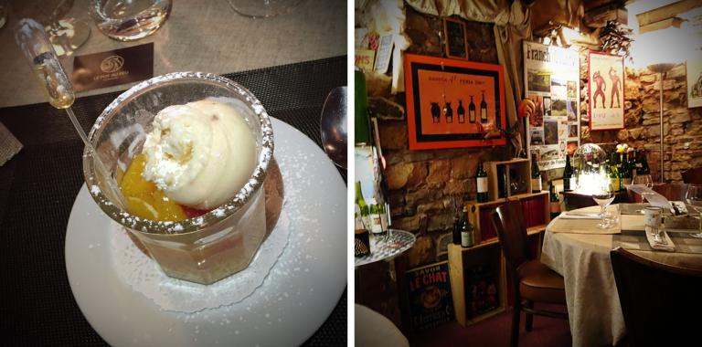 Zitrusfrucht-Minestrone und ein kurzer Blick ins Restaurant