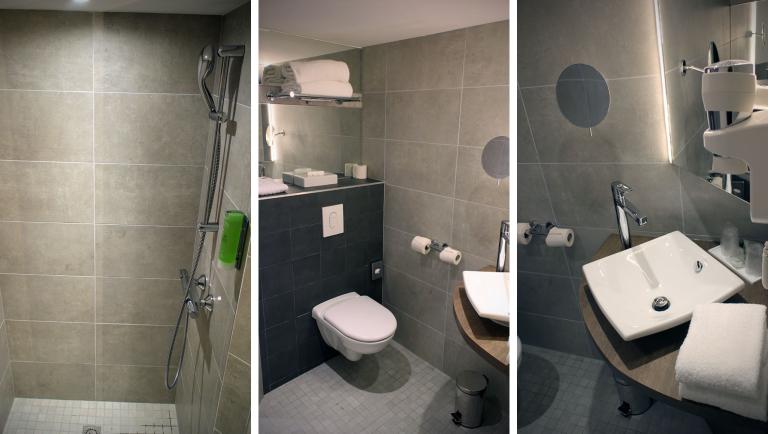 Badbereich Zimmer 112