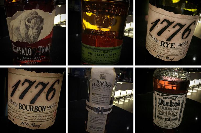 Die verkosteten Whiskyes