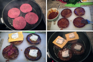 Burger Pattys zubereiten