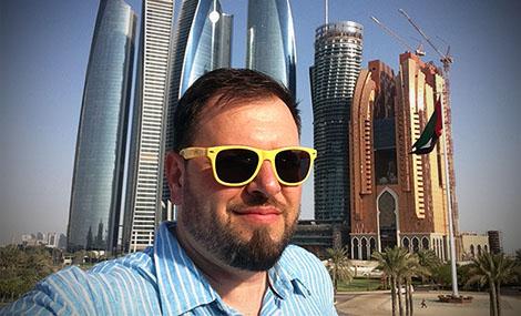 Jay in Abu Dhabi
