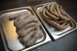 Salsiccia in zwei Größen