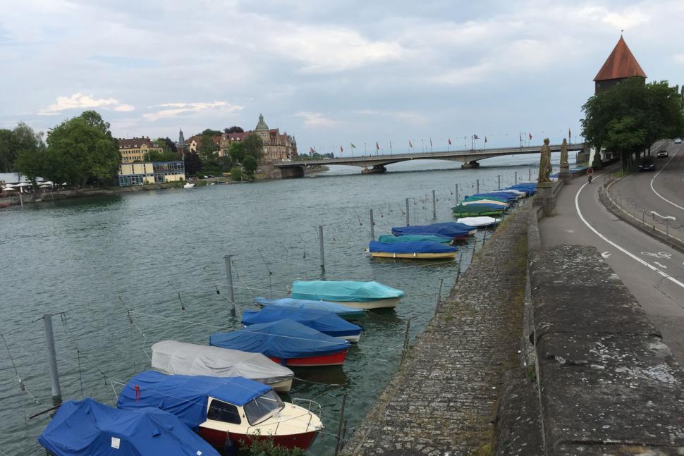 Der Seerhein in Konstanz