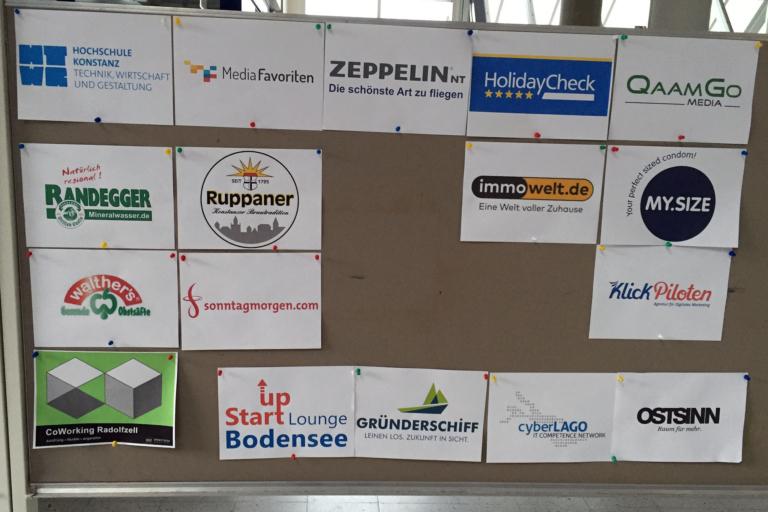 Sponsoren des Barcamp Bodensee 2016