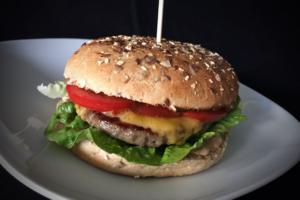 Fertiger Discounter-Hamburger