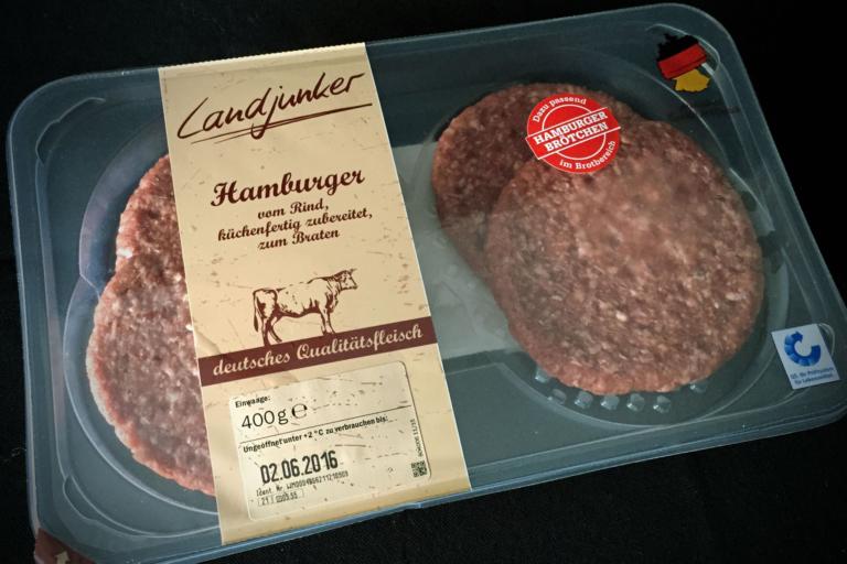 Landjunker Hamburger-Pattys