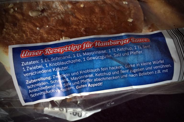 Rezepttipp für Hamburger-Sauce
