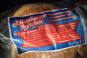 Zutatenliste Grafschafter Hamburger-Brötchen