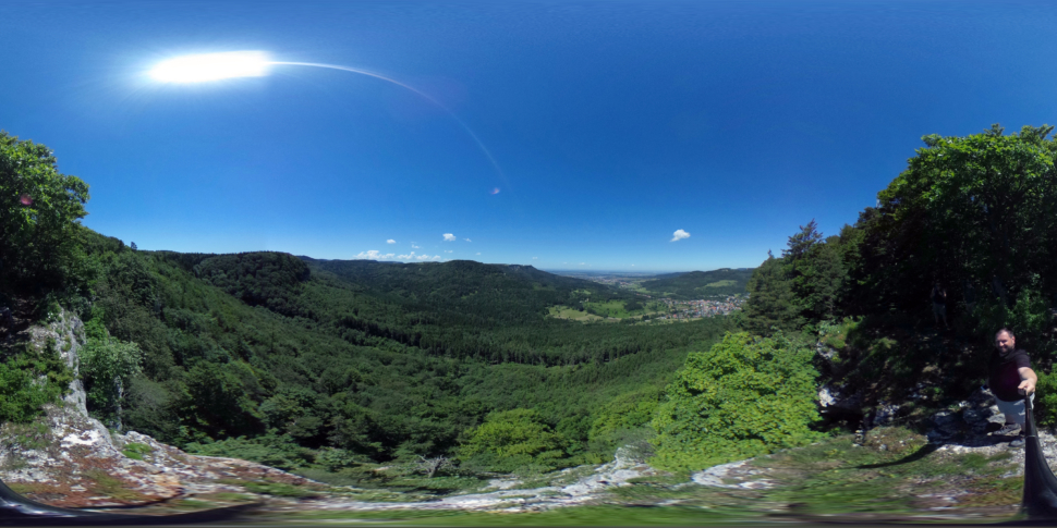 Ausblick vom Gräbelesberg
