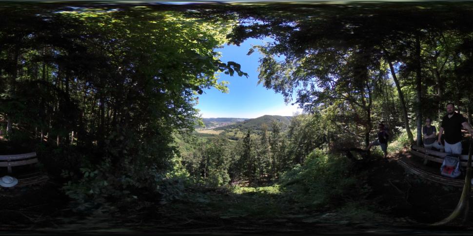 Ausblick vom Kübelhansfelsen