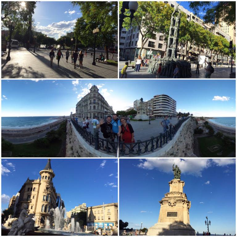 Tarragona Stadtbesichtigung Teil 1