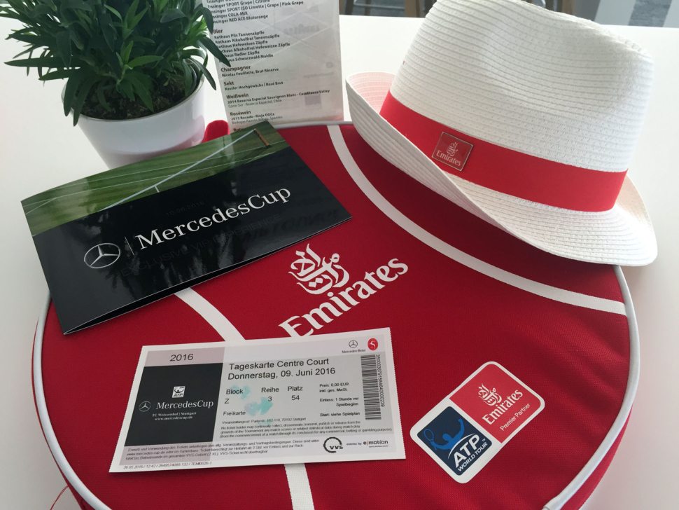Ticket MercedesCup