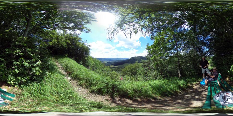 Pause auf dem Irrenberg