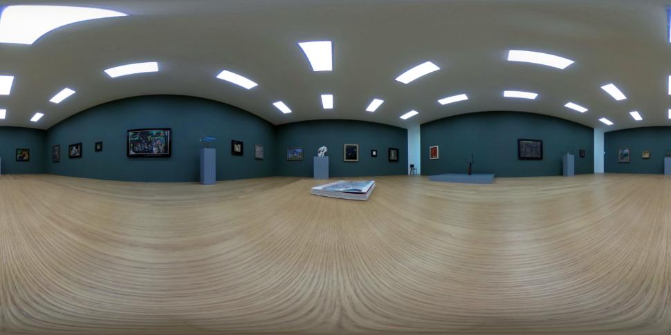 Ausstellungsraum der Hilti Art Foundation