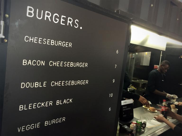 Bleecker St. Burgerkarte