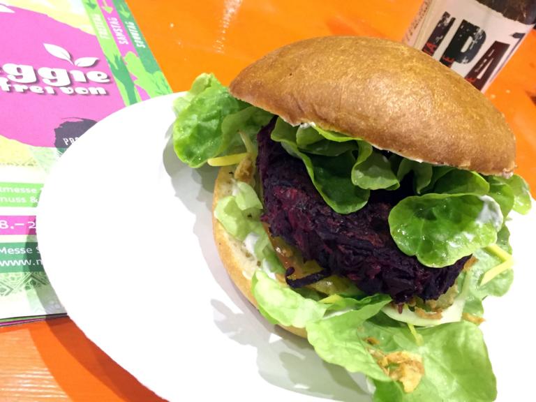Vegetarischer Season-Burger
