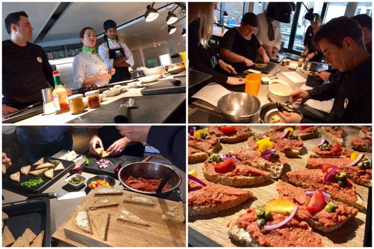 Zubereitung veganes Tatar