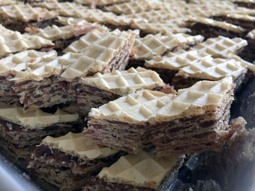 Kakaowaffeln nach Omas Rezept