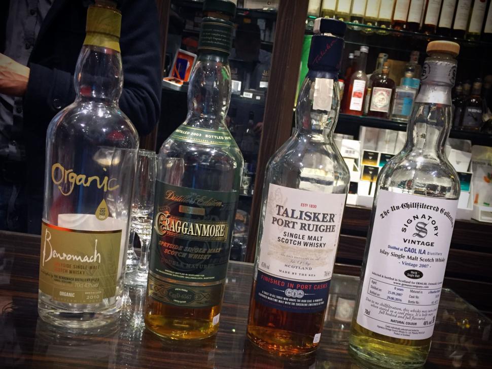 Tabak-Werner Whiskylineup 12/2016
