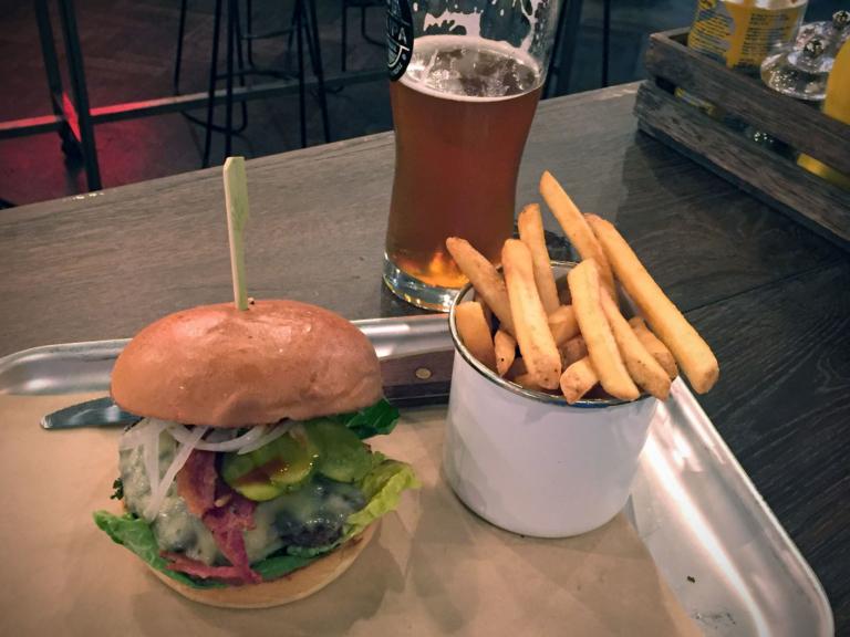 Patriot Burger Menü