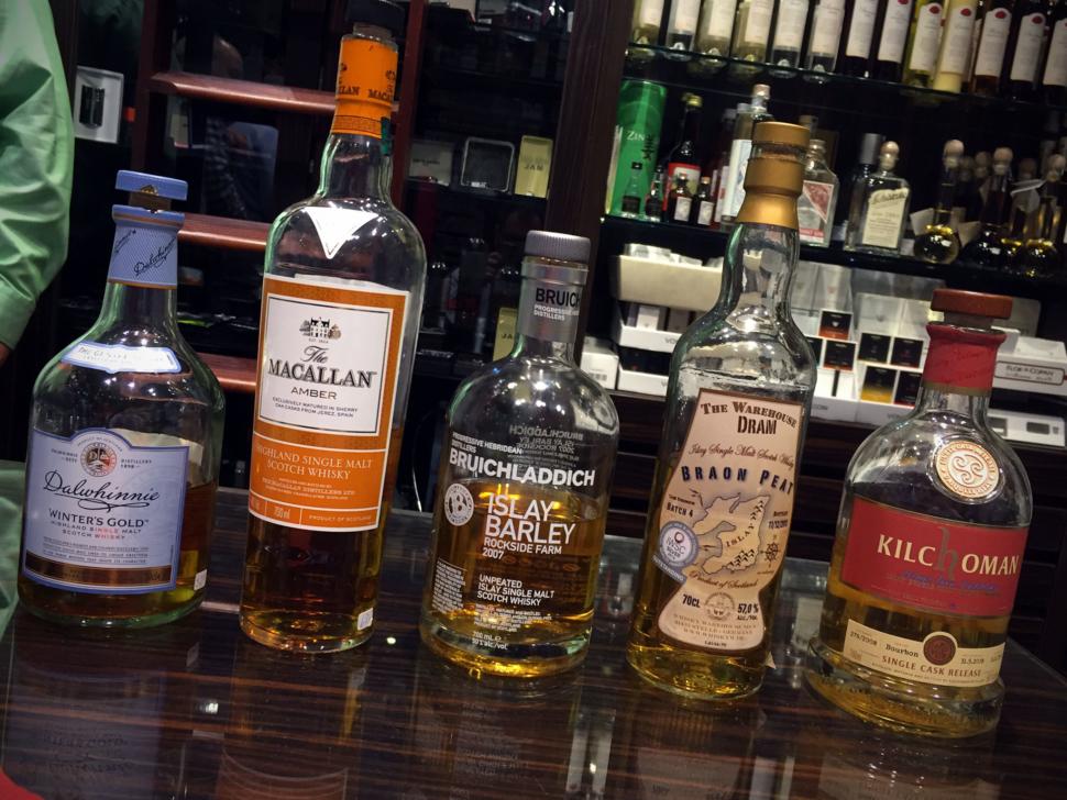 Tabak-Werner Whiskylineup 01/2017