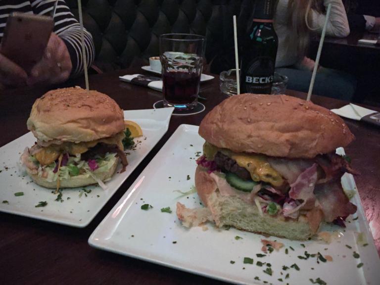 Standard Burger vs. XXL Burger